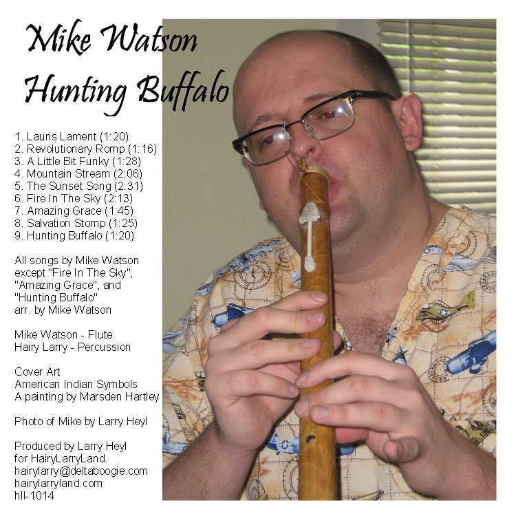 Hunting Buffalo CD Back