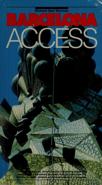 Cover of: Barcelona Access by Richard Saul Wurman