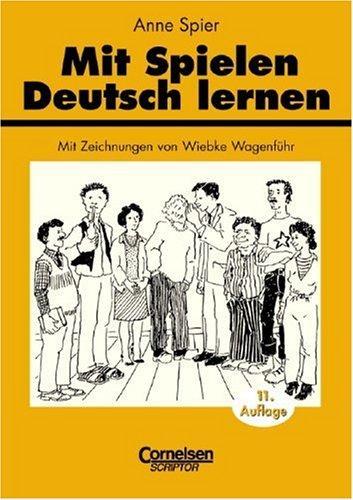 Mit Spielen Deutsch lernen.