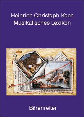 Musikalisches Lexikon