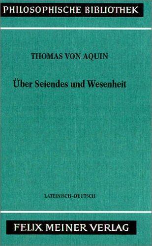 Download Über Seiendes und Wesenheit =