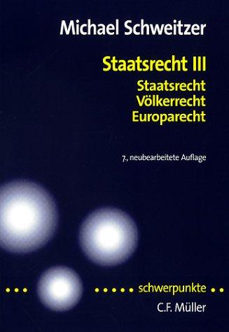 Download Staatsrecht III
