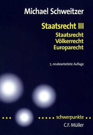 Download Staatsrecht III