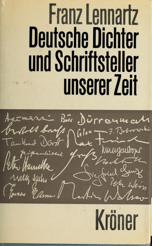 Download Deutsche Dichter und Schriftsteller unserer Zeit