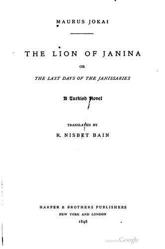 Download The lion of Janina