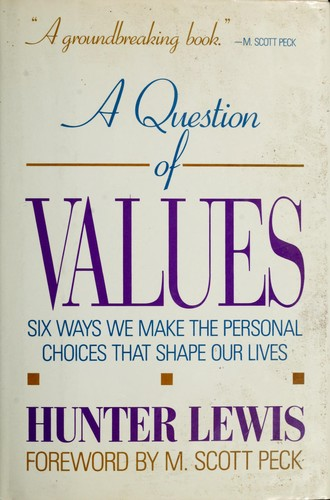 Download A question of values