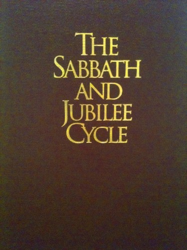 The Sabbath and Jubilee Cycle by R. Clover