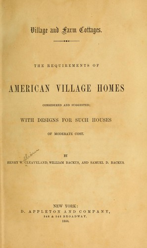 Download Village and farm cottages.