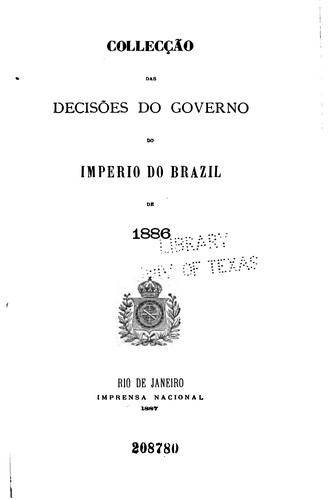 Download Decisões do Governo da Republica dos Estados Unidos do Brazil.