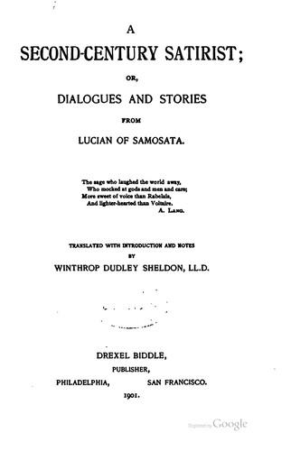 Download A second-century satirist