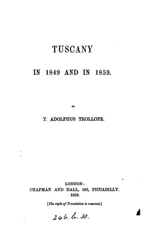 Download Tuscany in 1849 and in 1859.