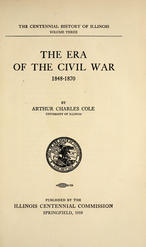 The era of the Civil War, 1848-1870