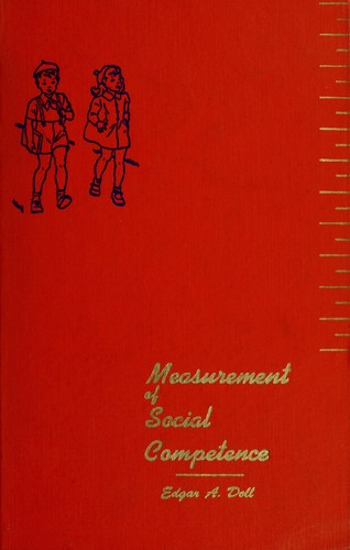 The measurement of social competence