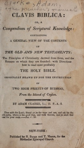 Download The preacher's manual