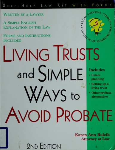 Download Living trusts, and simple ways to avoid probate