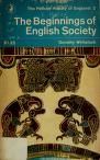 Cover of: The beginnings of English society