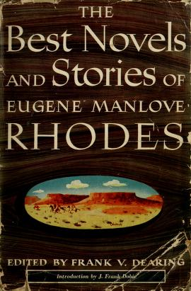 Cover of: Best novels and stories | Eugene Manlove Rhodes