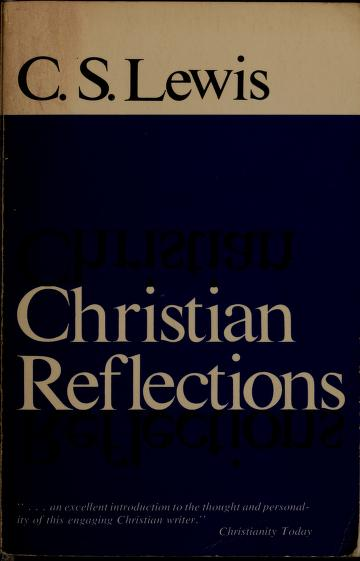 Cover of: Christian reflections | C. S. Lewis