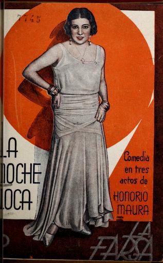 Cover of: La noche loca | Honorio Maura
