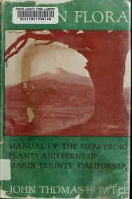 Cover of: Marin Flora | John Thomas Howell