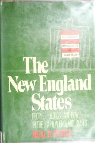 Cover of: The New England States   Neal R. Peirce