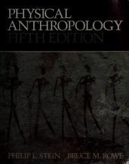 Cover of: Physical anthropology | Philip L. Stein