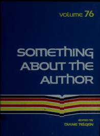 Cover of: Something About the Author v. 76 | Diane Telgen