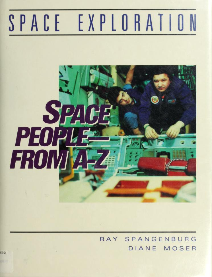 Space people from A-Z by Spangenburg, Ray