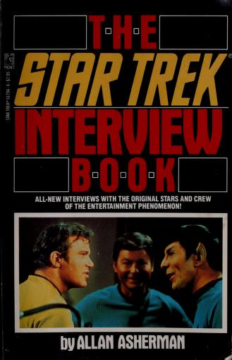 The Star Trek interview book by Allan Asherman