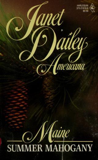 Cover of: Summer Mahogany (Janet Dailey Americana - Maine, Book 19)  