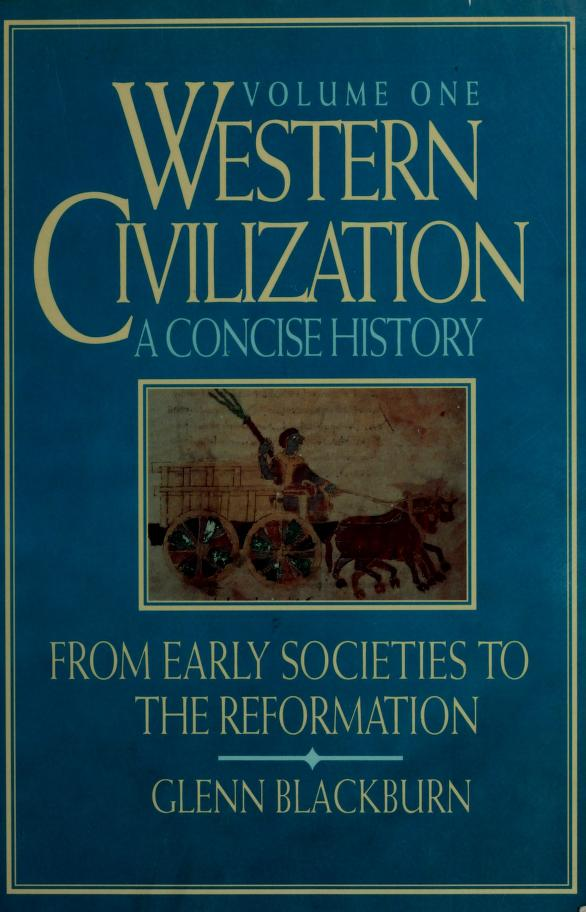 Western civilization by Glenn Blackburn