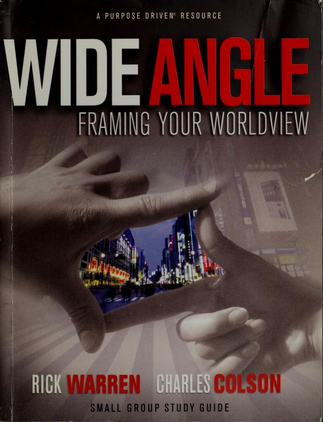 Framing your worldview by Richard Warren